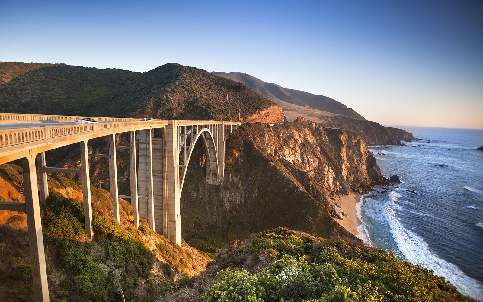 Noon: Stop for Photos at Bixby Bridge in Big Sur