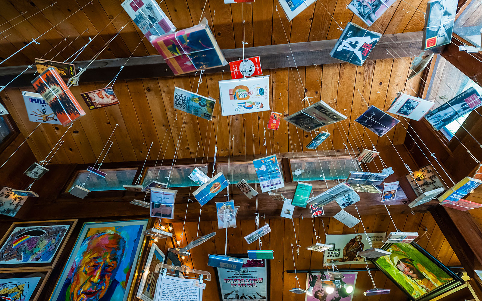 1:30 p.m.: Visit the Henry Miller Memorial Library in Big Sur