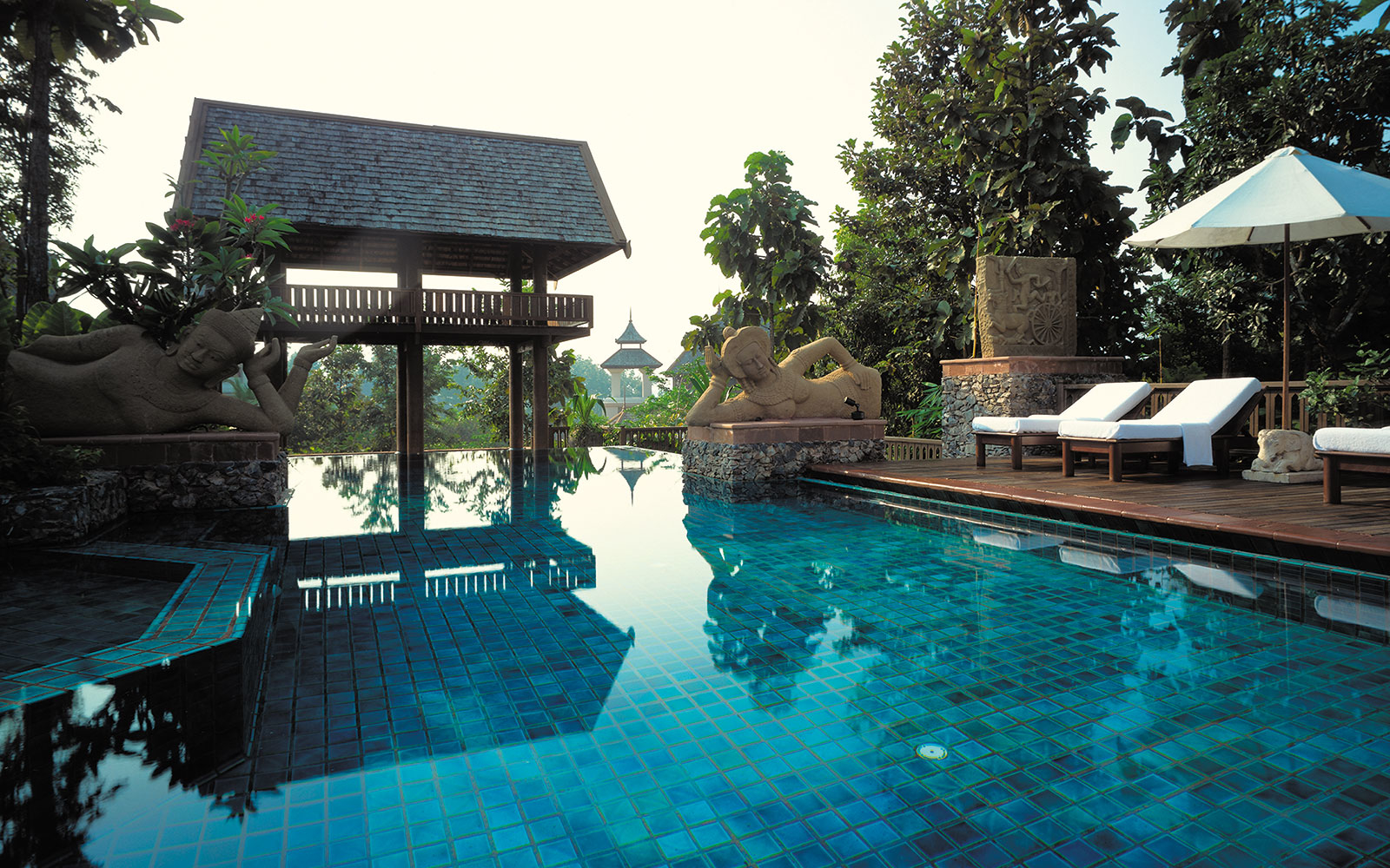No. 6 (tie): Four Seasons Resort Chiang Mai, Chiang Mai, Thailand