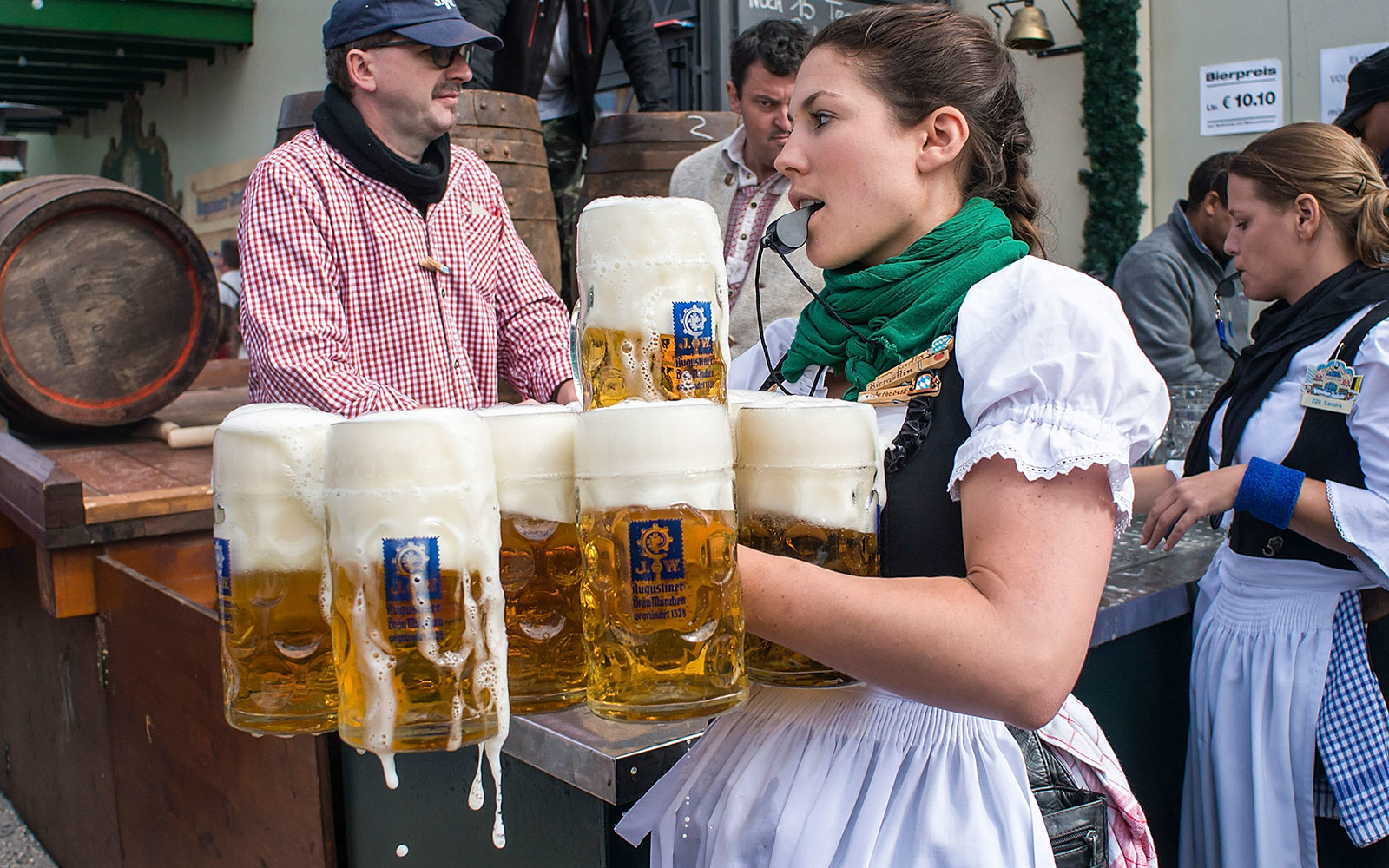 The Beer of Oktoberfest