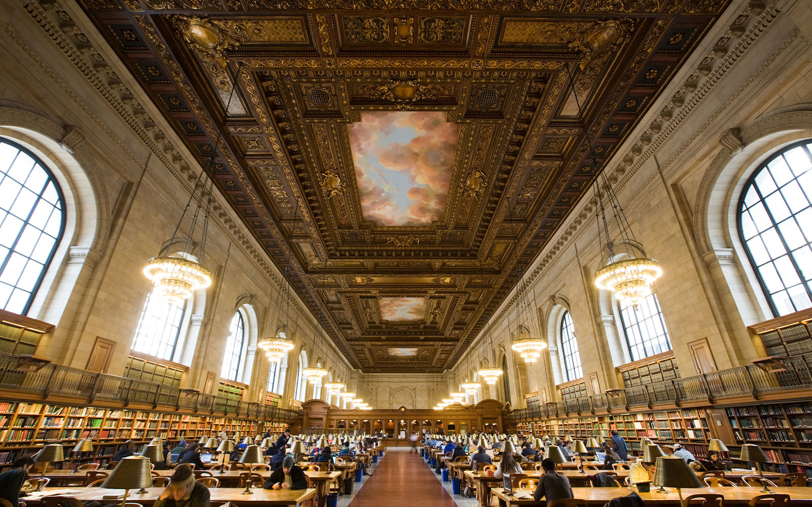 New York Public Library And Bryant Park Travel Leisure