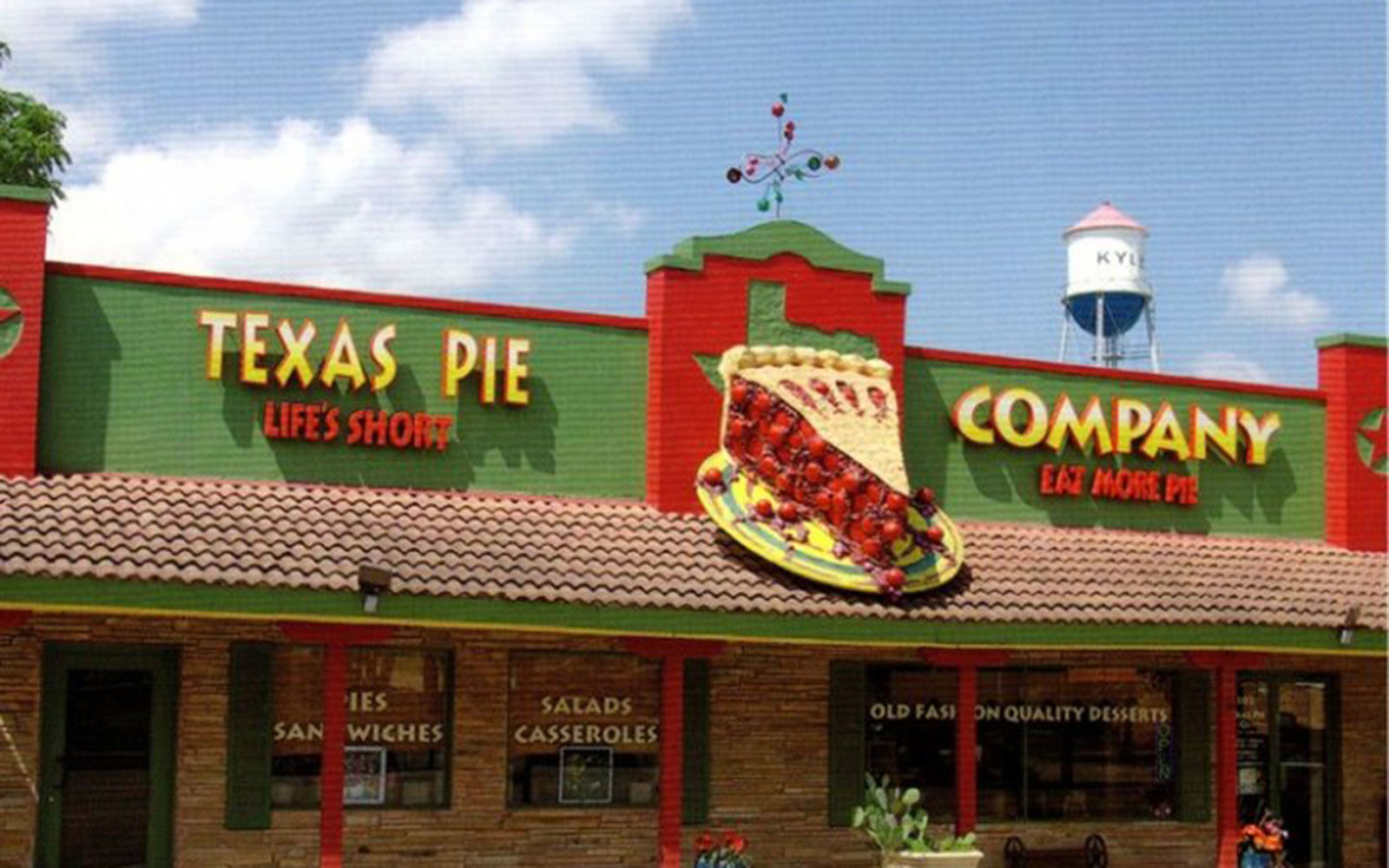 The Texas Pie Company in Kyle, Texas