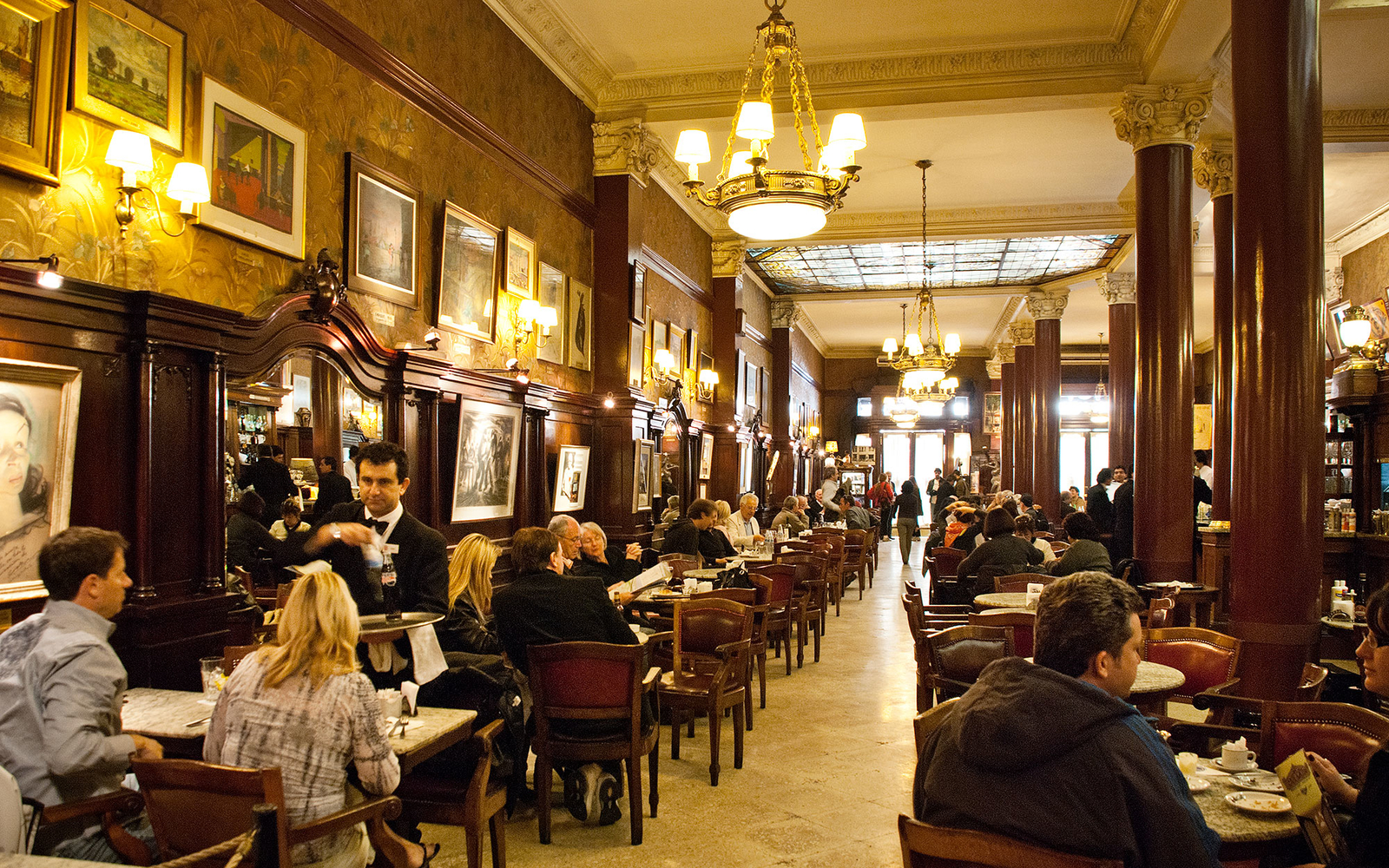 Buenos Aires's Eight Most Elegant Cafes