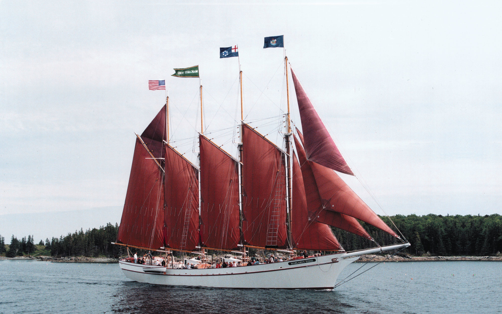 Downeast windjammer cruise