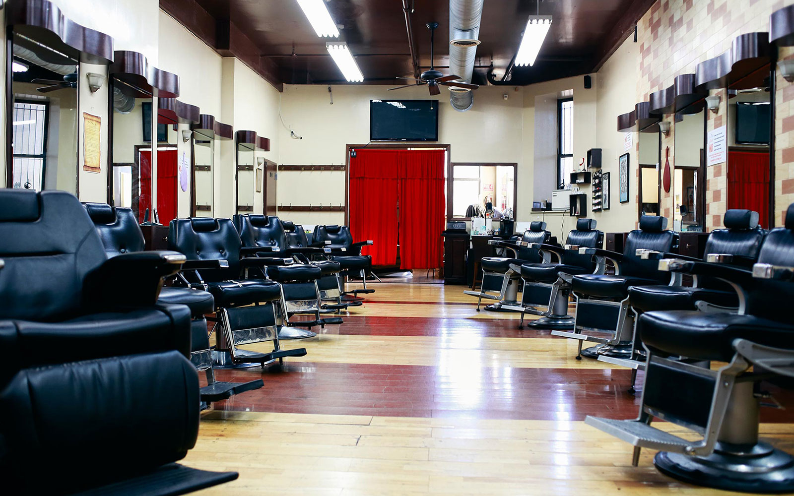 The coolest barber shops in america travel leisure for A new look salon