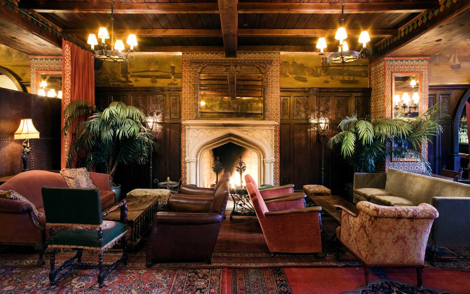 New York S Best Fireplace Bars Travel Leisure