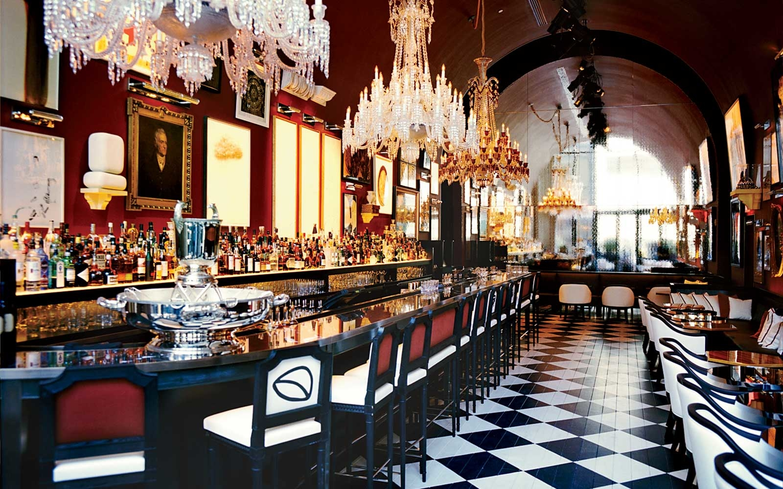 Baccarat hotel residences travel leisure for Top of the rock new york restaurant