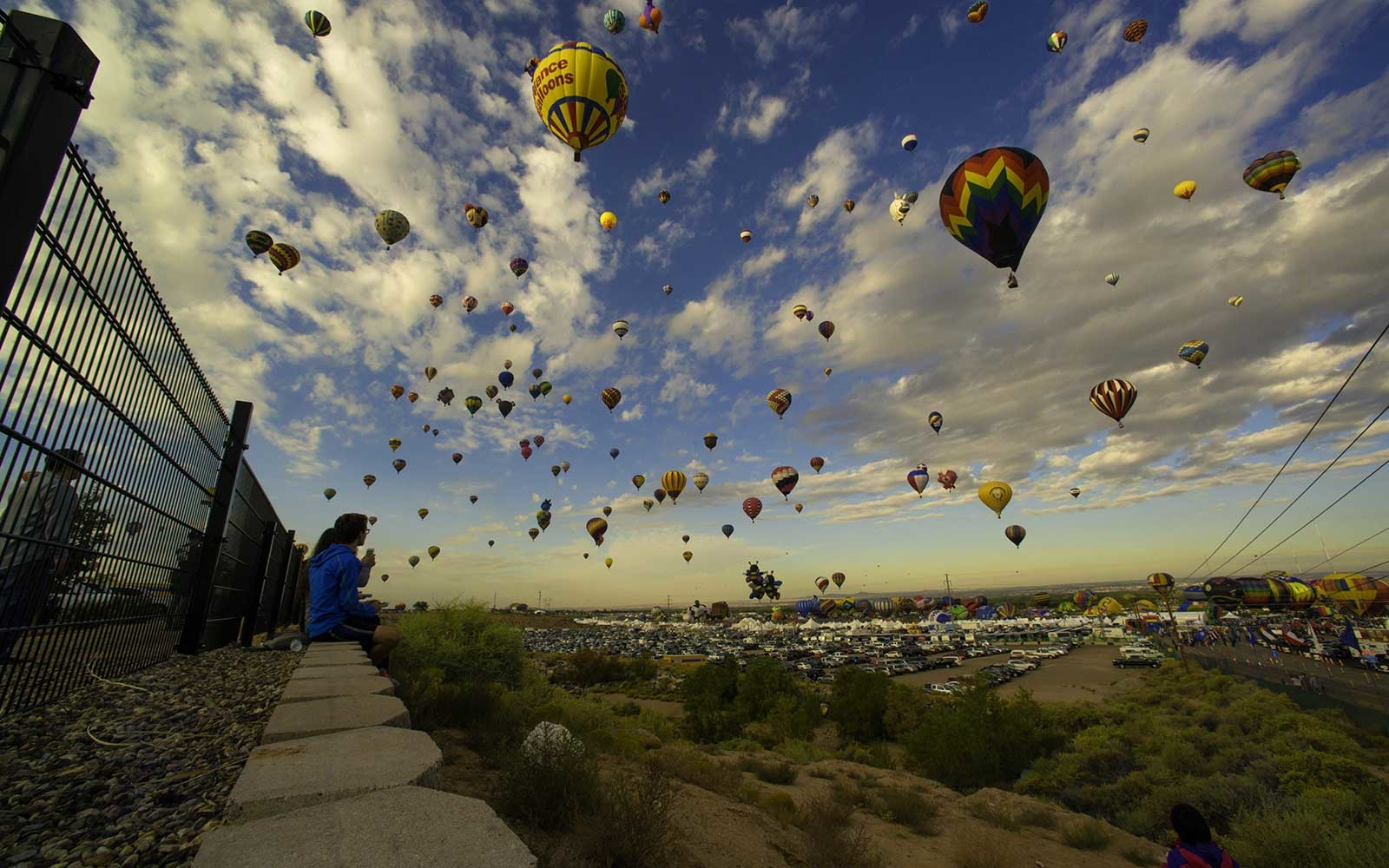 Albuquerque hot air balloons