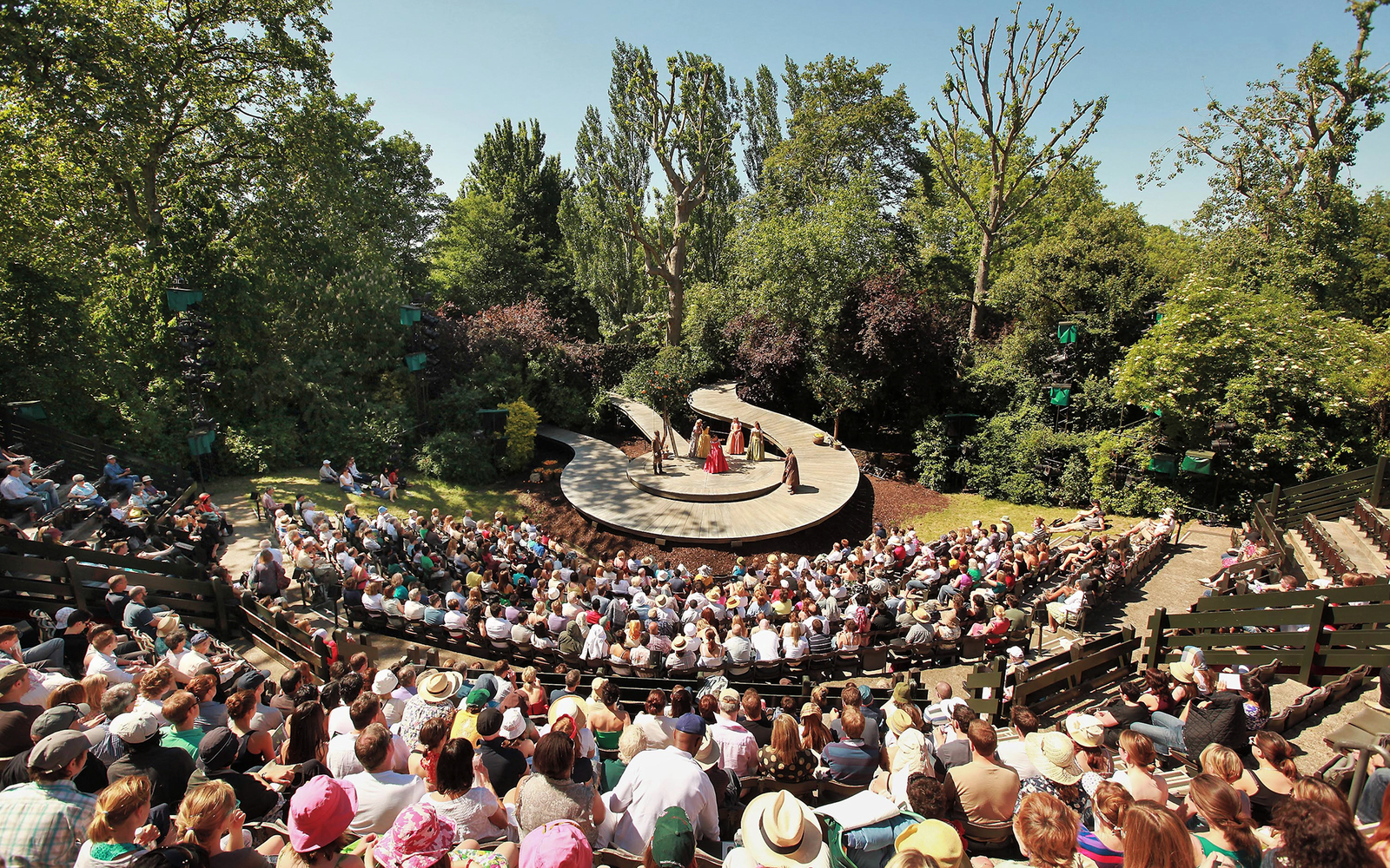 Regent S Park Open Air Theatre Travel Leisure