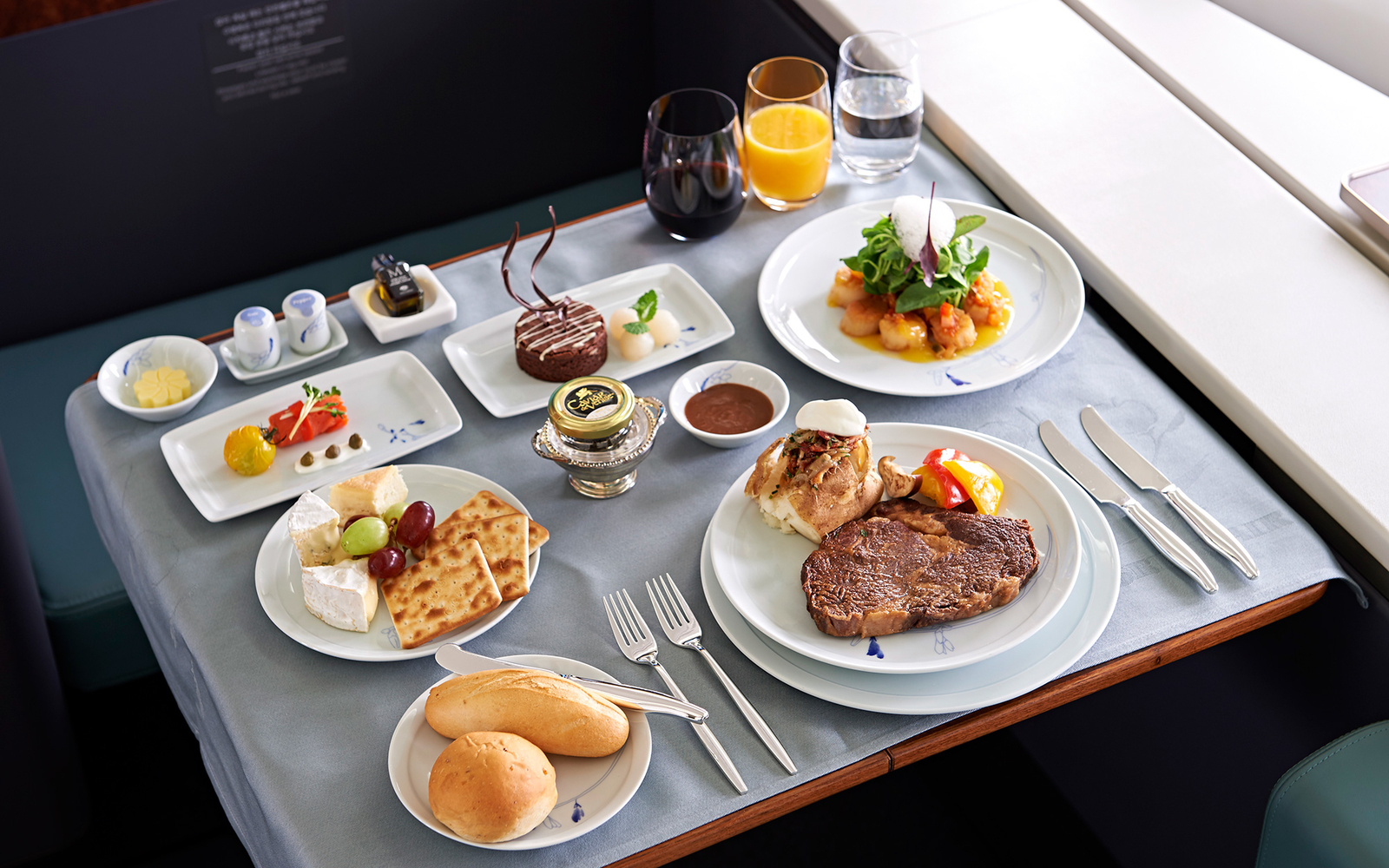Does First Class Food Taste Good