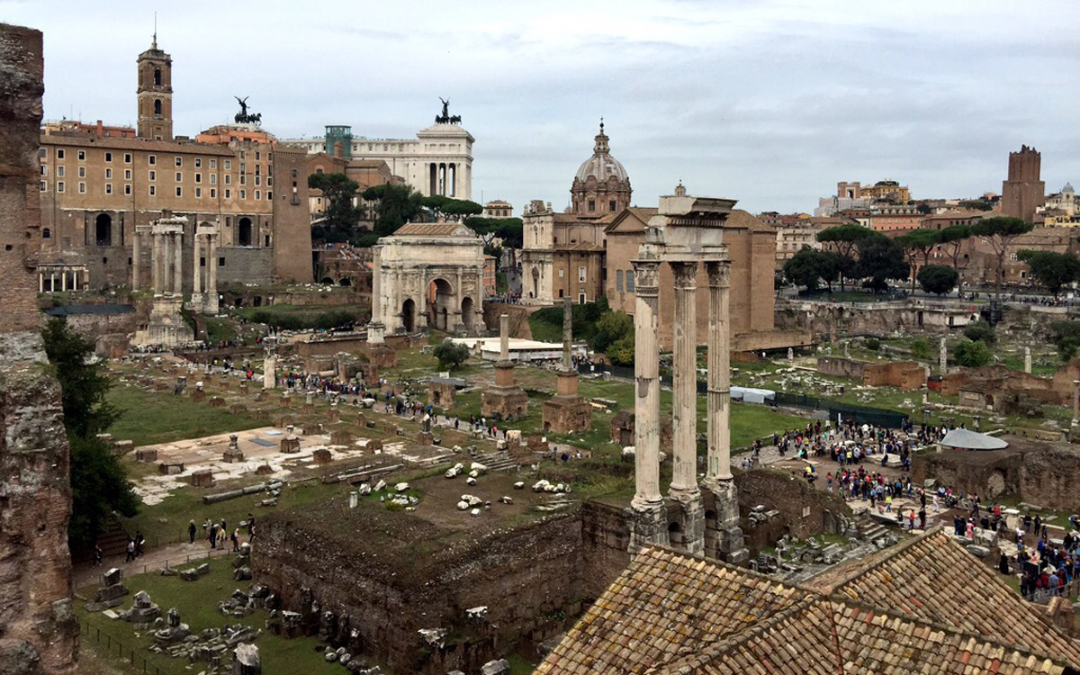 Roman Forum Opens New Walkway For Tourists Travel Leisure