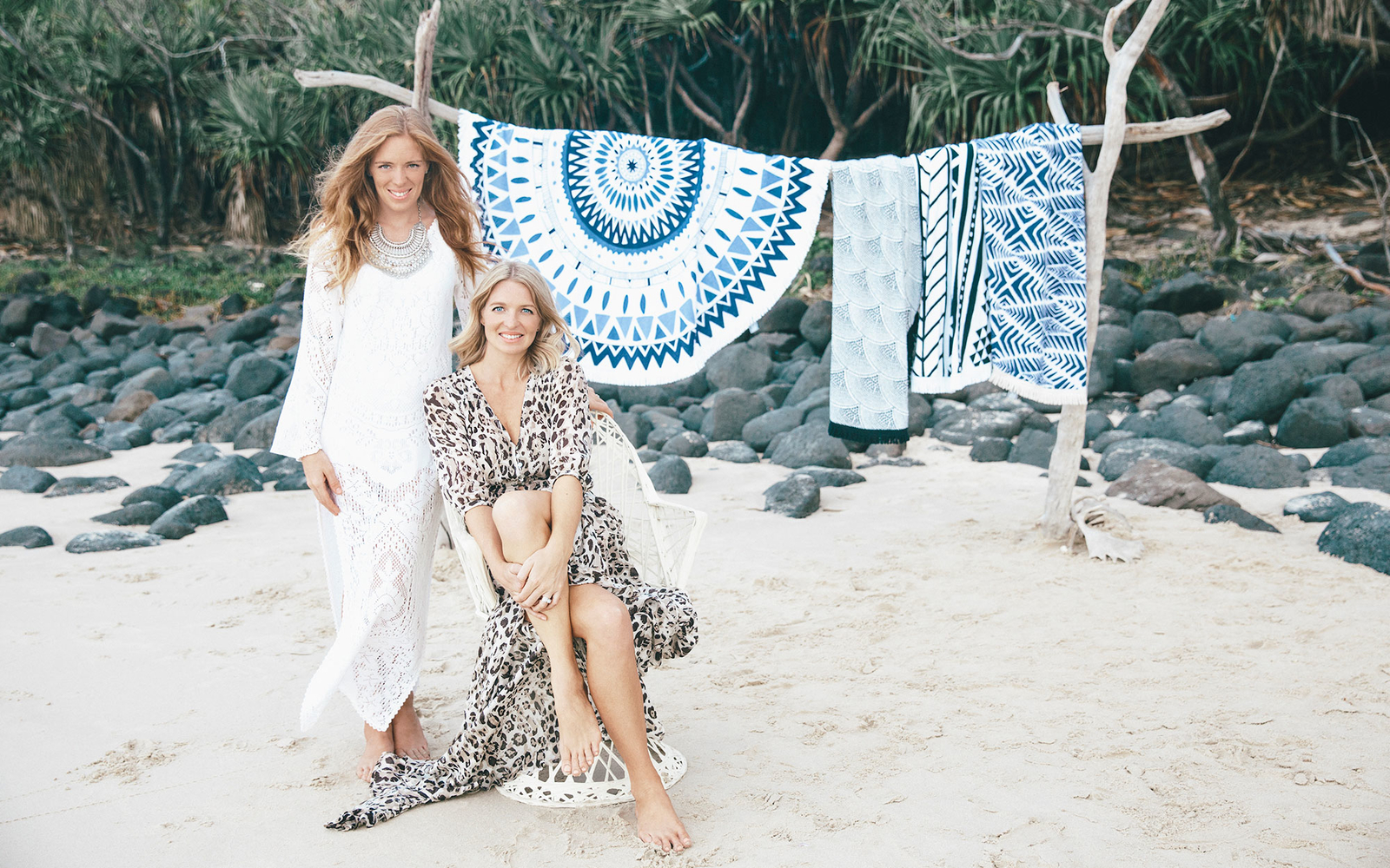 Beach Travel Tips From the Sisters Behind Those Coveted Round Towels