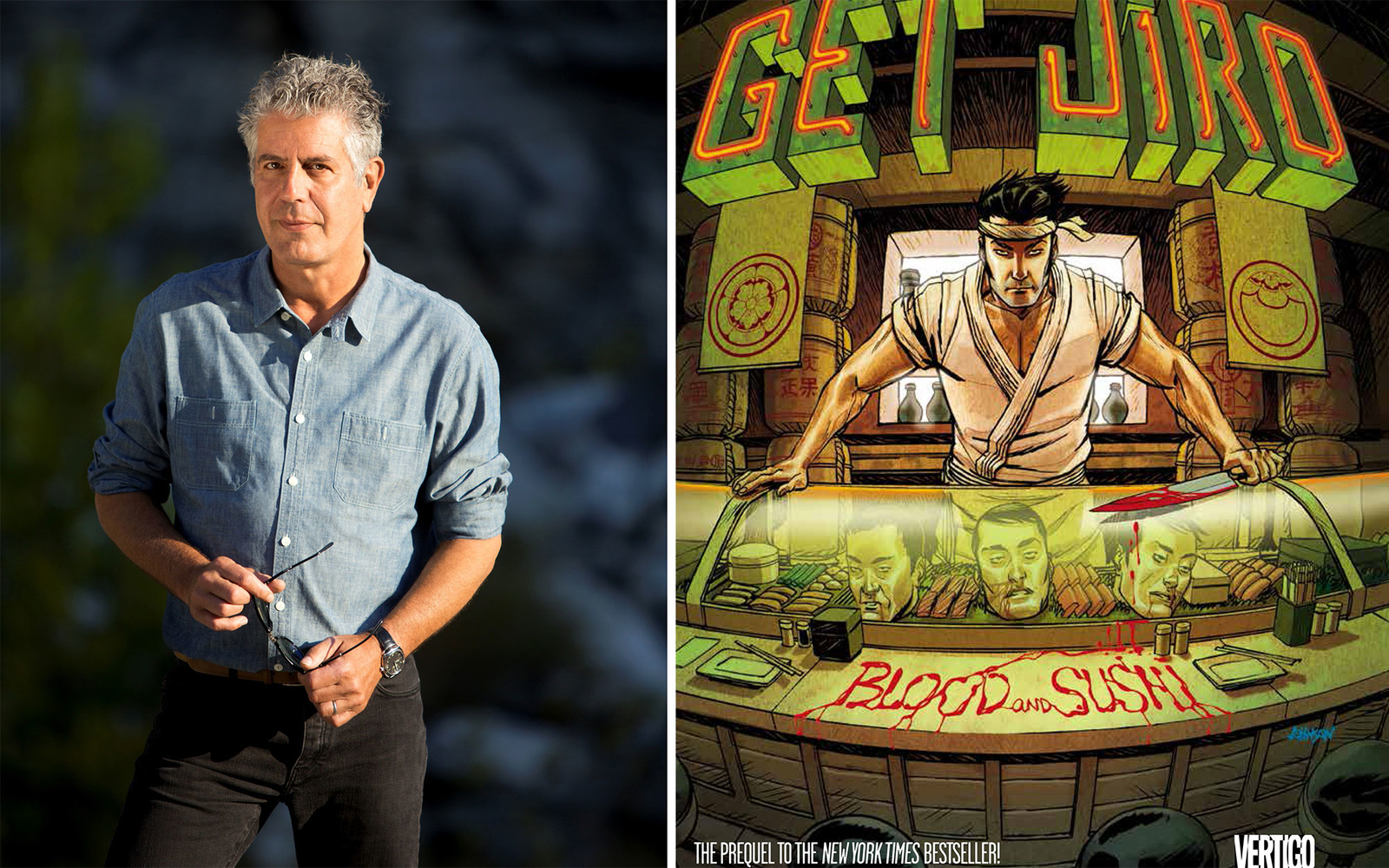 Anthony Bourdain Dishes on Sushi, Underrated Cities, and his New Book