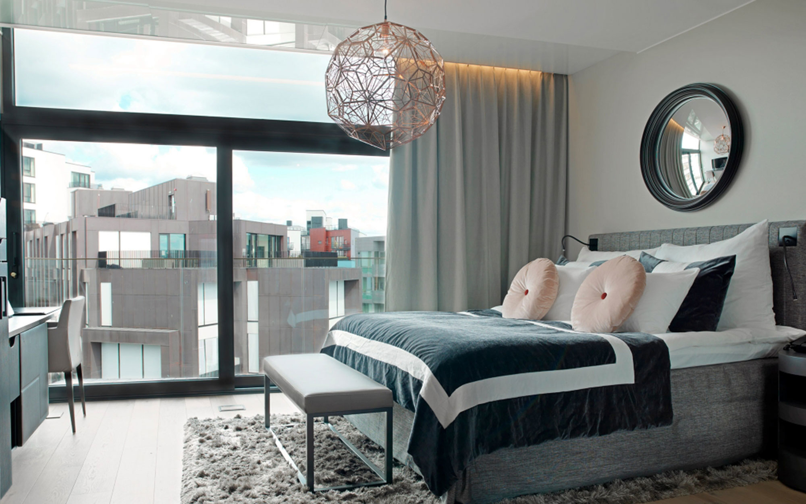 Stylish hotels in scandinavia travel leisure for Design hotel oslo
