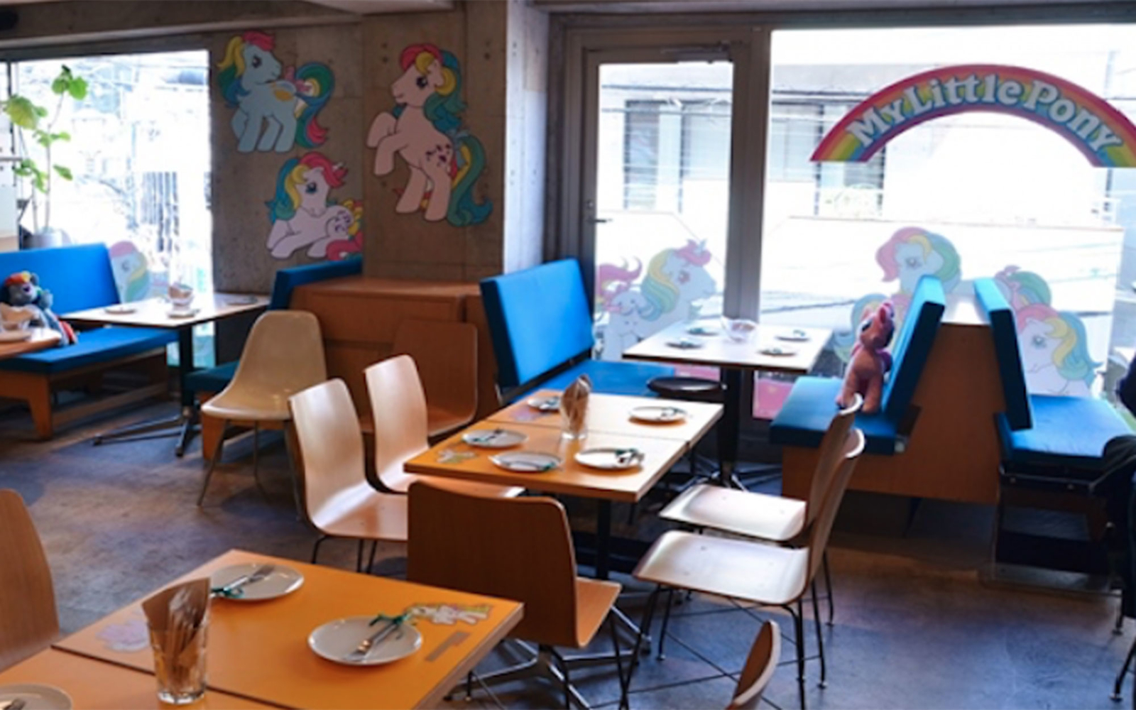 The World's First My Little Pony Cafe Opens in Tokyo