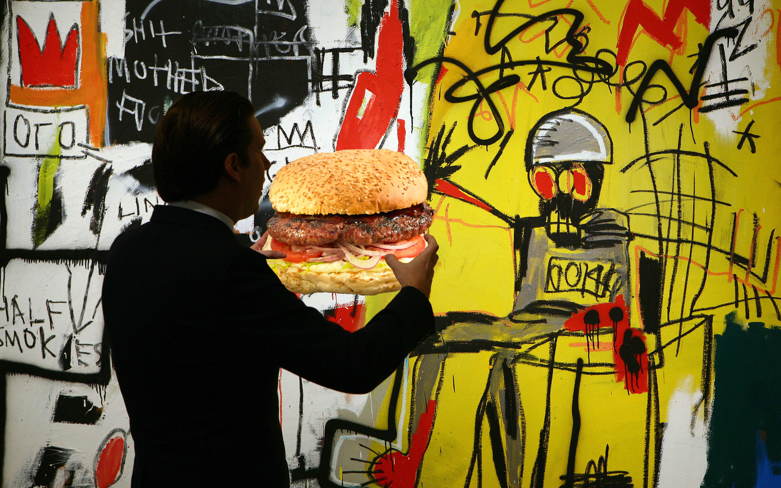 PYT Basquiat Burger New York