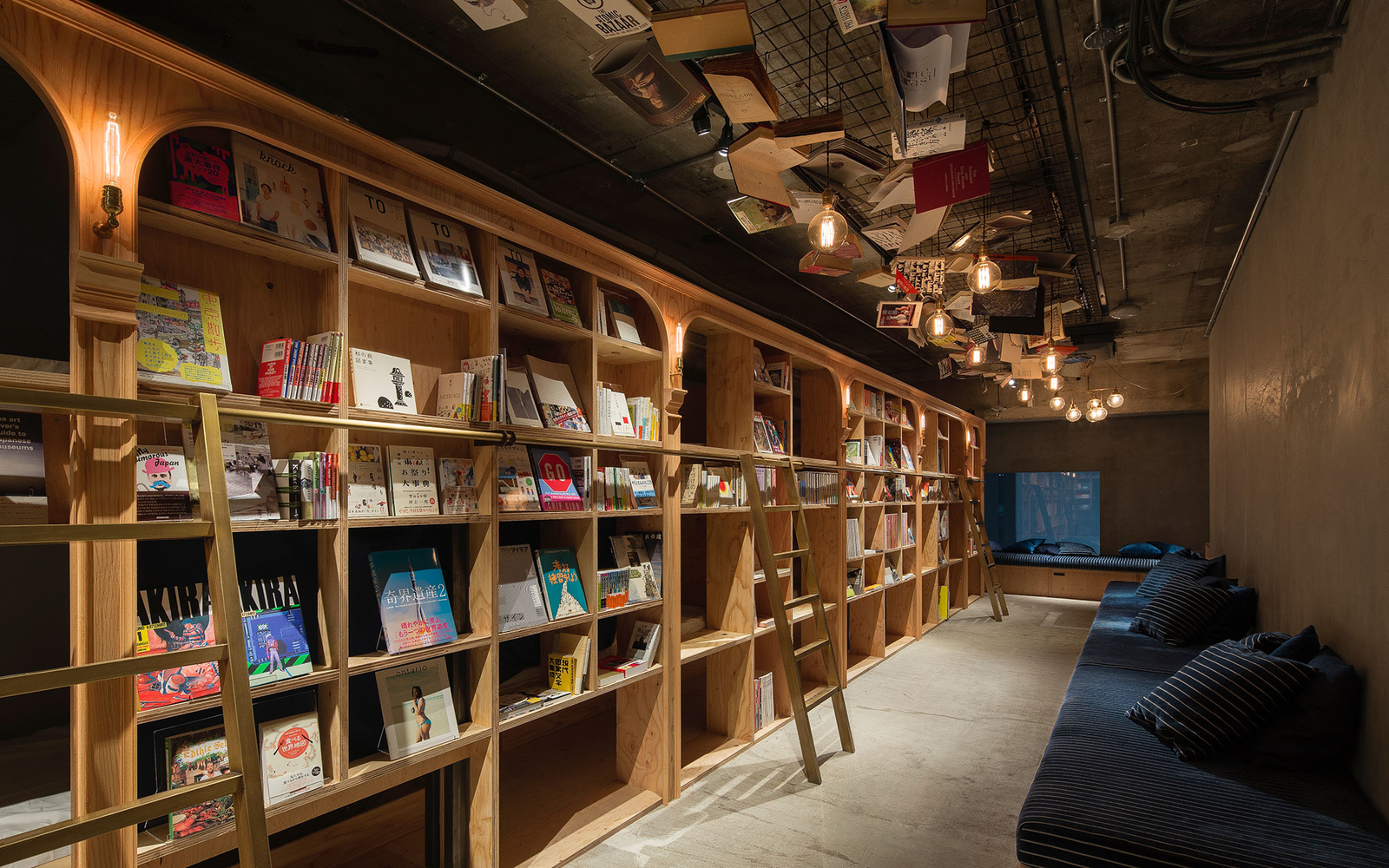 Spend a Night in the Ultimate Reading Nook of Tokyo's New Library-Themed Hostel