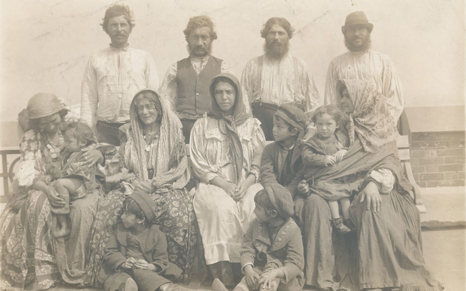 Ellis Island Photos, Gypsies