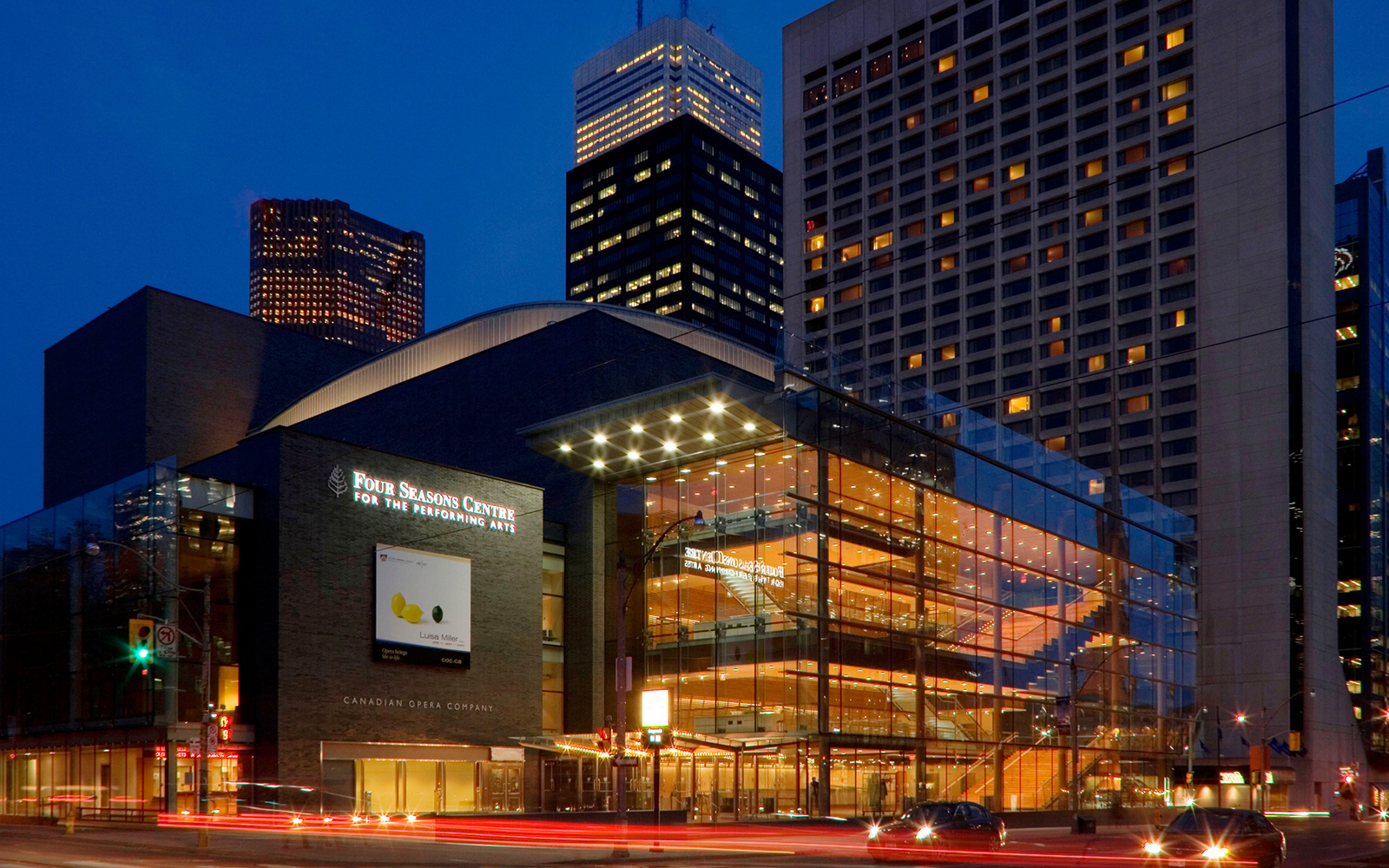 Four Seasons Centre For The Performing Arts Travel Leisure