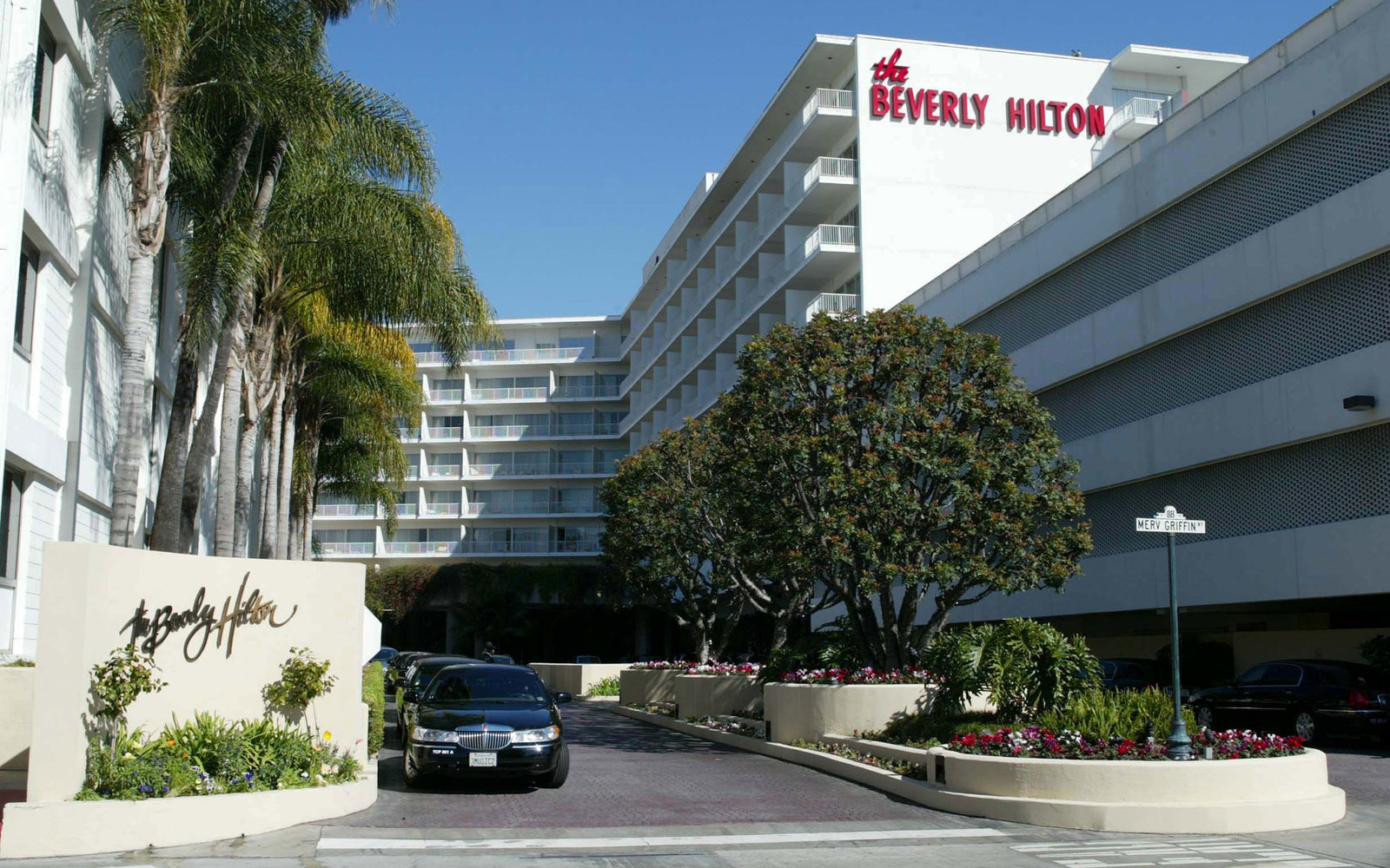 C4D16F Beverly Hilton Hotel Los Angeles, America. Image shot 2008. Exact date unknown.