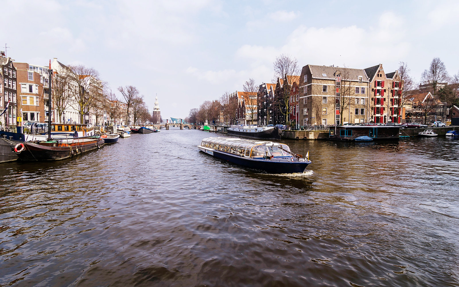 Amsterdam Tile Canal