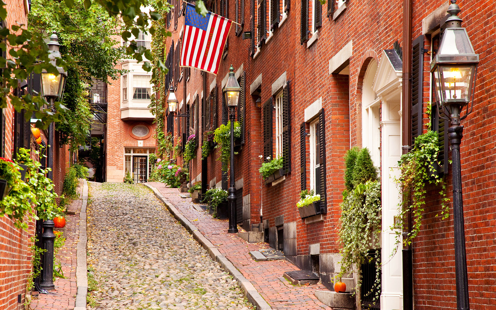 Boston Tile Acorn Street in Beacon Hill