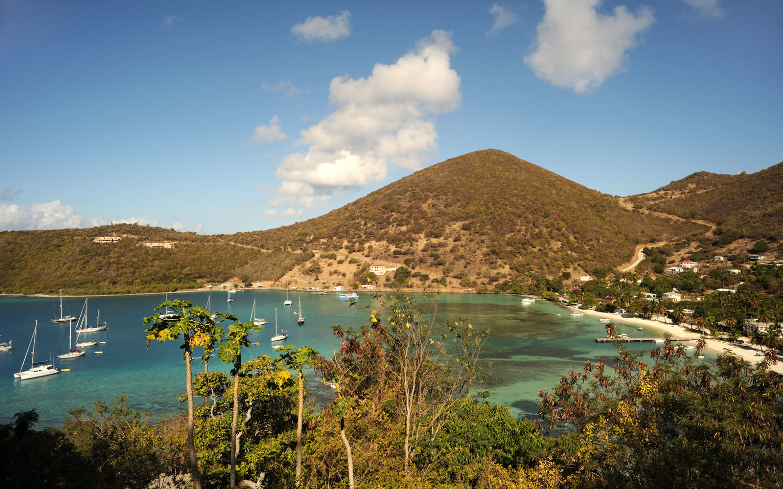 World's Best Beaches for Beauty and Nature Jost Van Dyke BVI