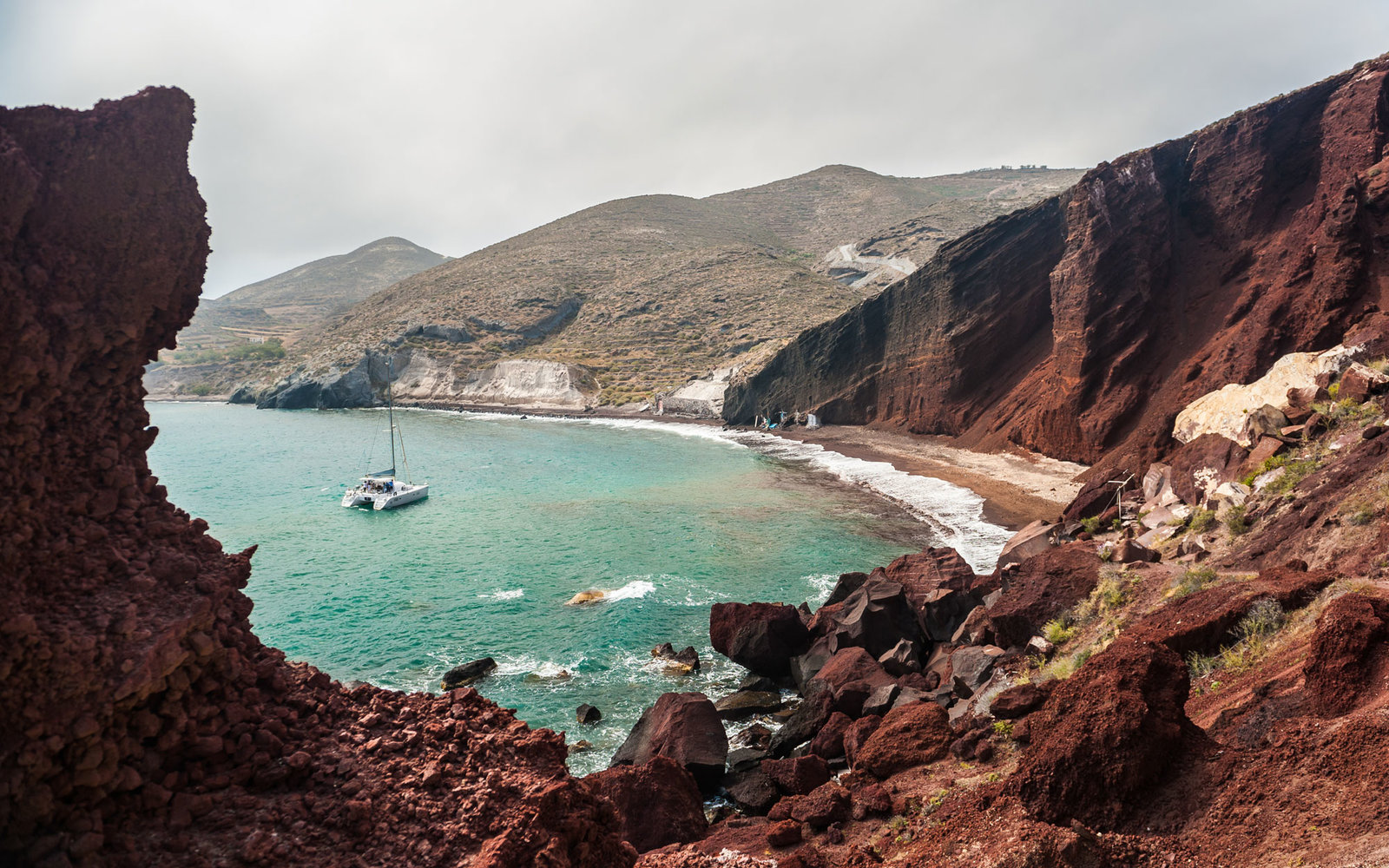 World's Best Beaches for Beauty and Nature Santorini Red Beach