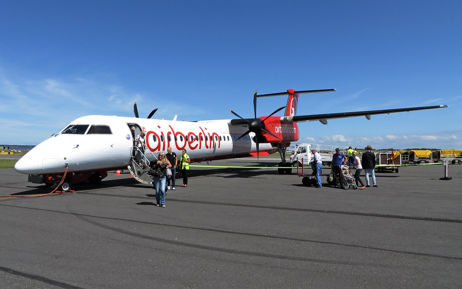 Germany, Bombardier Dash 8Q-400 of Air Berlin