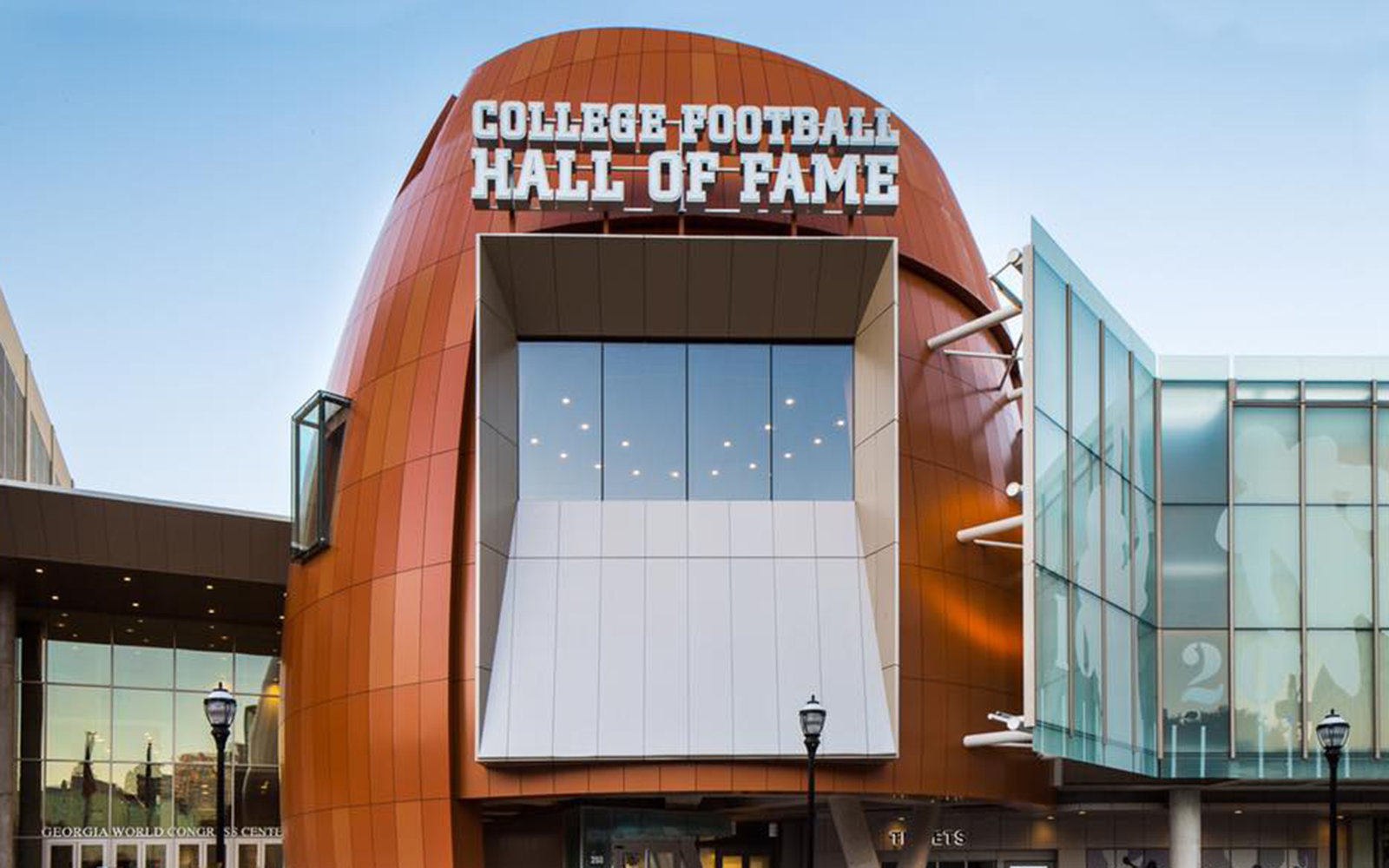 College Football Hall Of Fame Amp Chick Fil A Fan Experience