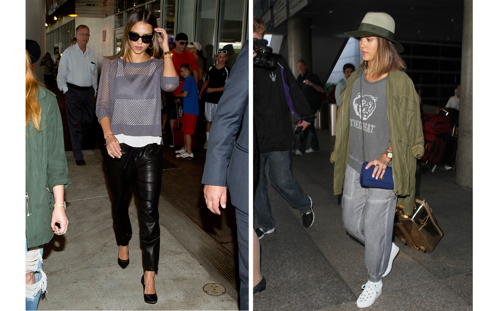Best Celebrity Airport Style - Cute Travel Outfits