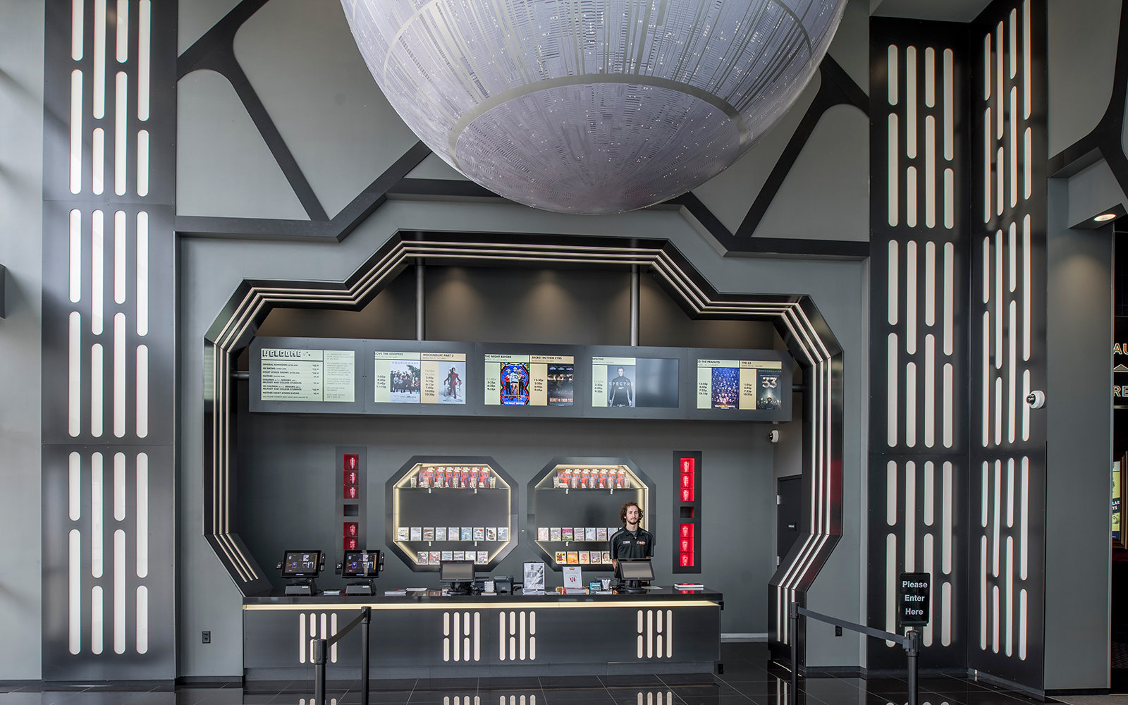 Alamo Drafthouse Star Wars Theater