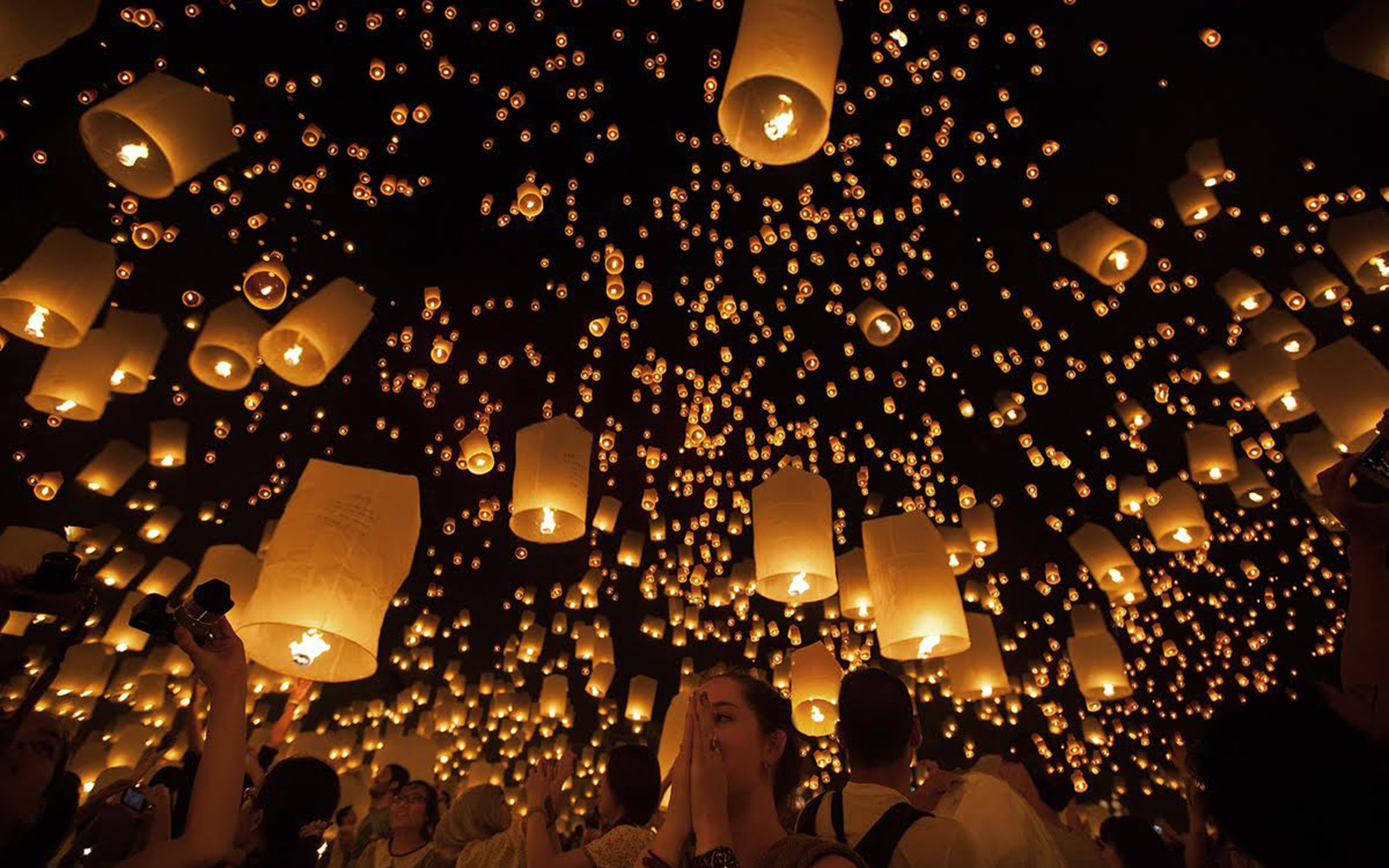 Thailand S Floating Lantern Festival Travel Leisure