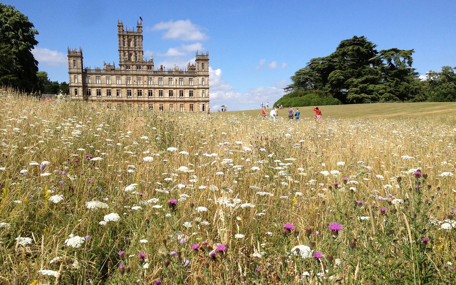 TV Show Locations Downton Abbey Highclere Castle