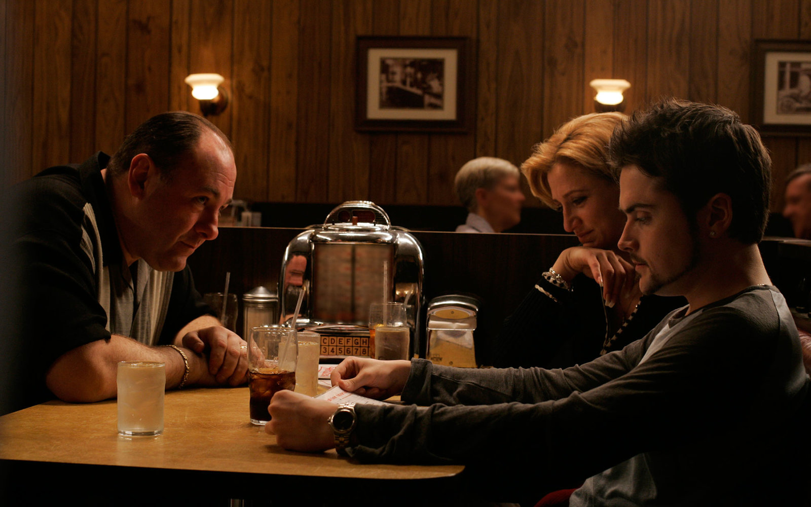 TV Show Locations The Sopranos HBO Holstens Ice Cream Parlor