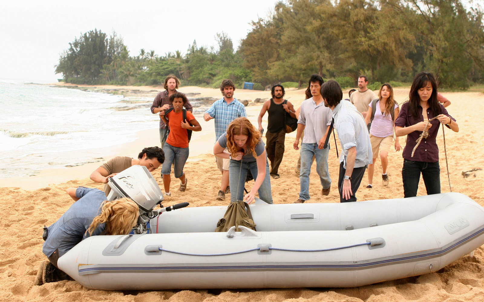 Visit TV Show Locations LOST Police Beach Oahu Hawaii