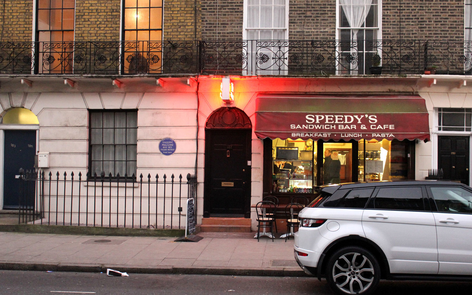 Visit TV Show Locations Sherlock Speedy's Cafe London