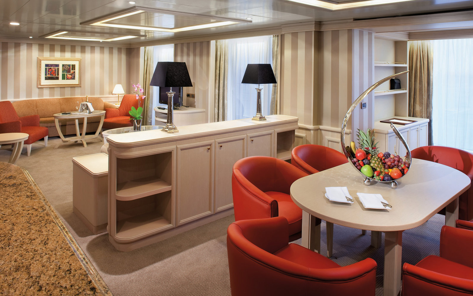 No. 8: Small-Ship Ocean Cruise Line, Silversea