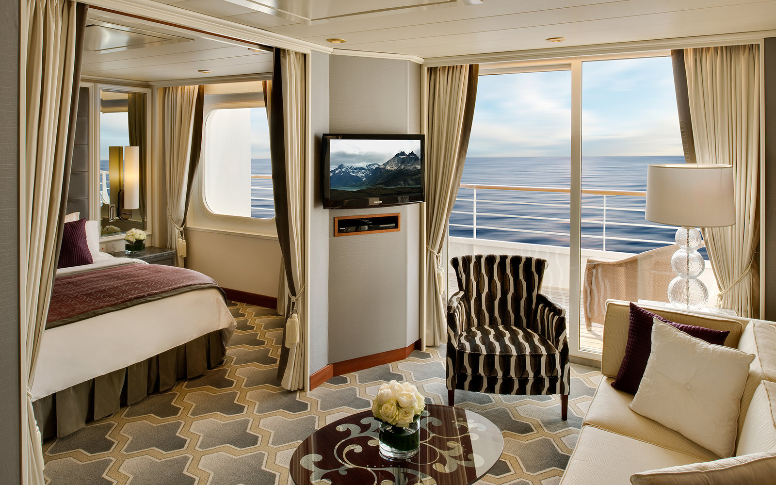 No. 13 Large-Ship Ocean Cruise Line: Crystal Cruises