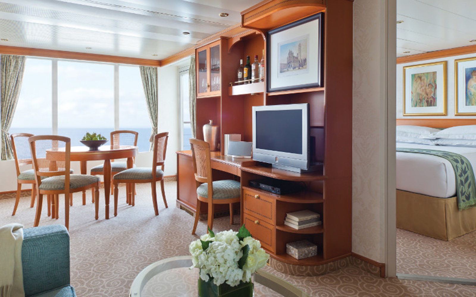 No. 7: Small-Ship Ocean Cruise Line: Regent Seven Seas