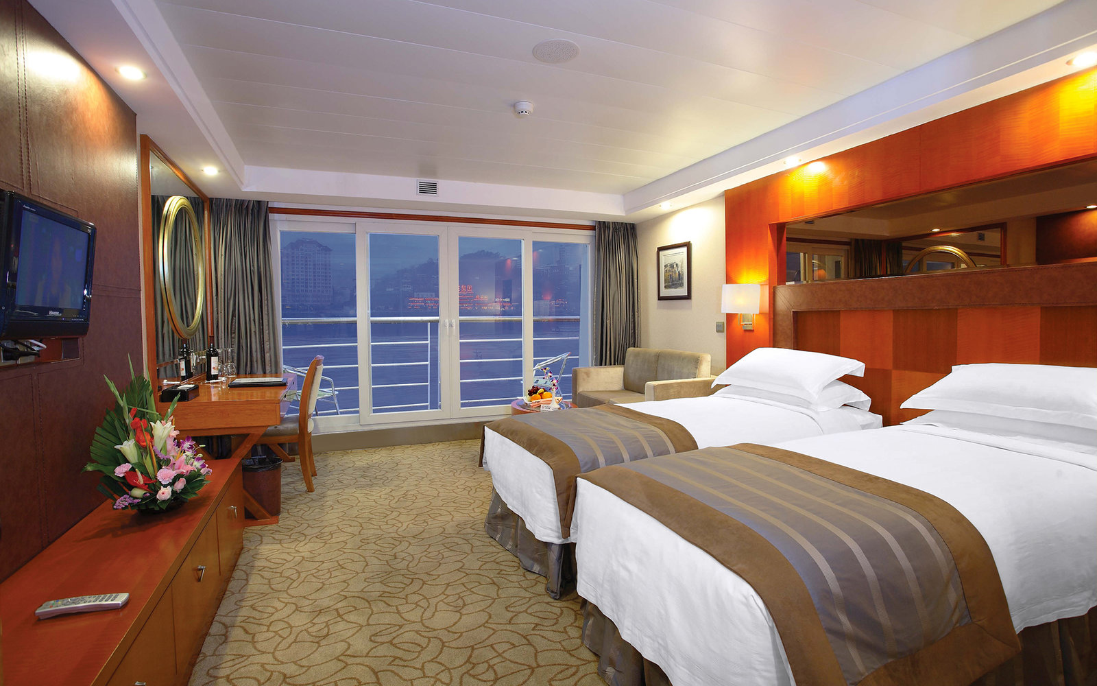 World S Best Cruise Cabins 2015 Travel Leisure