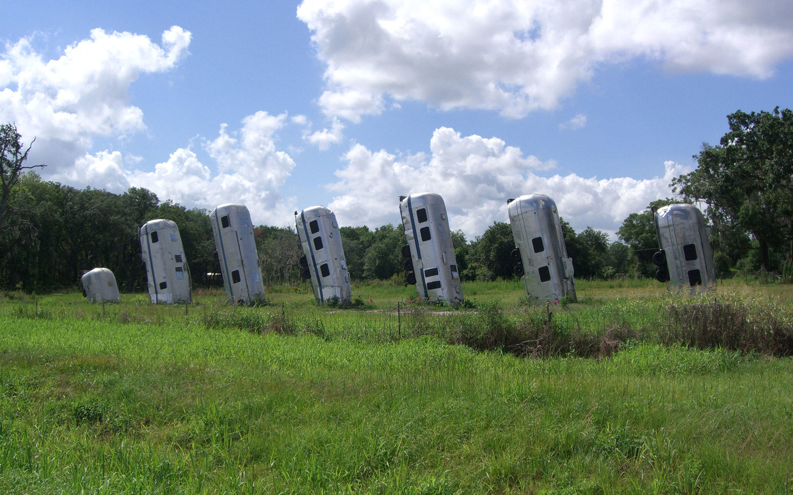 Weird Roadside Attractions America Airstream Ranch Florida