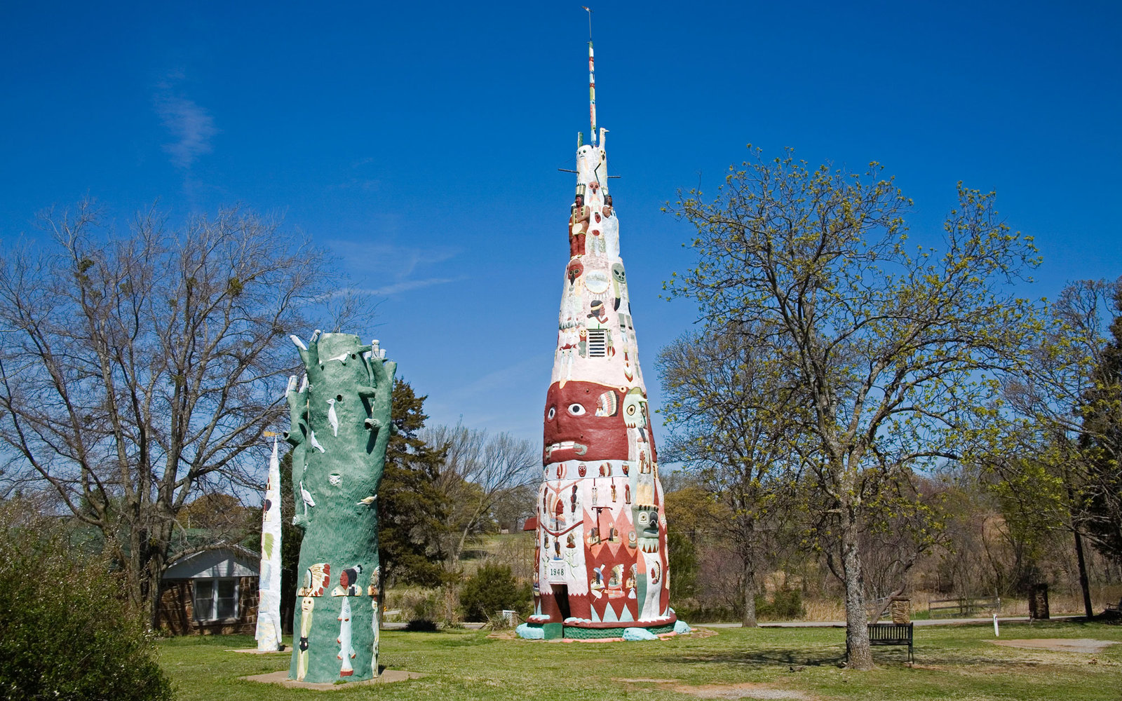 Weird Roadside Attractions America Oklahoma