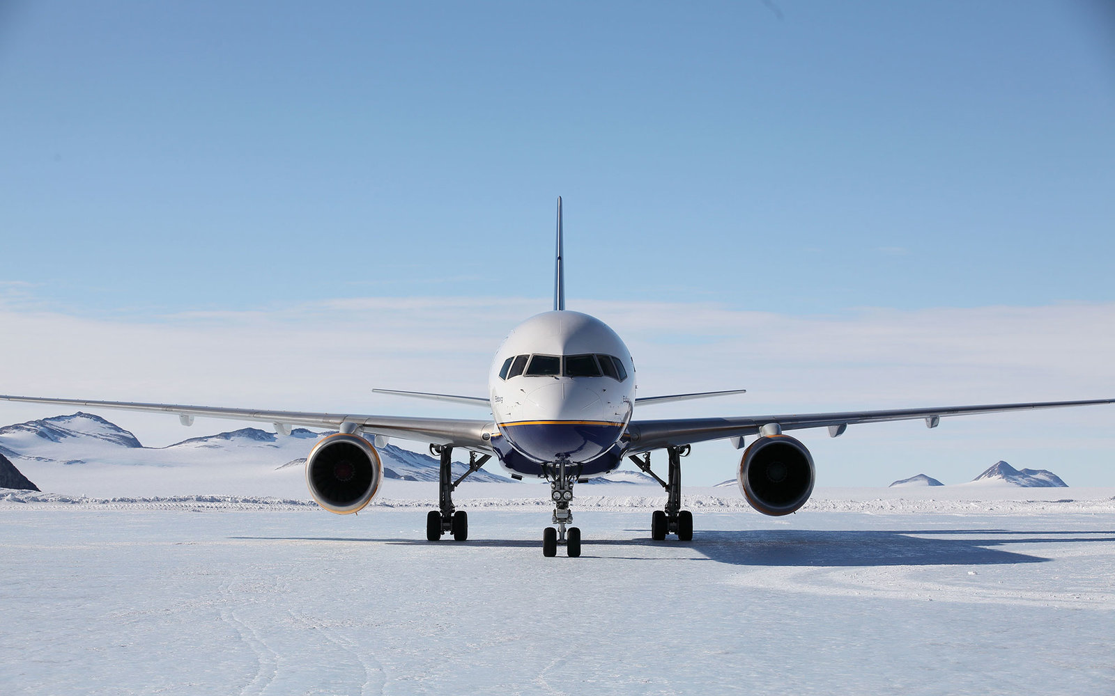 Passenger Airline Lands In Antarctica Travel Leisure