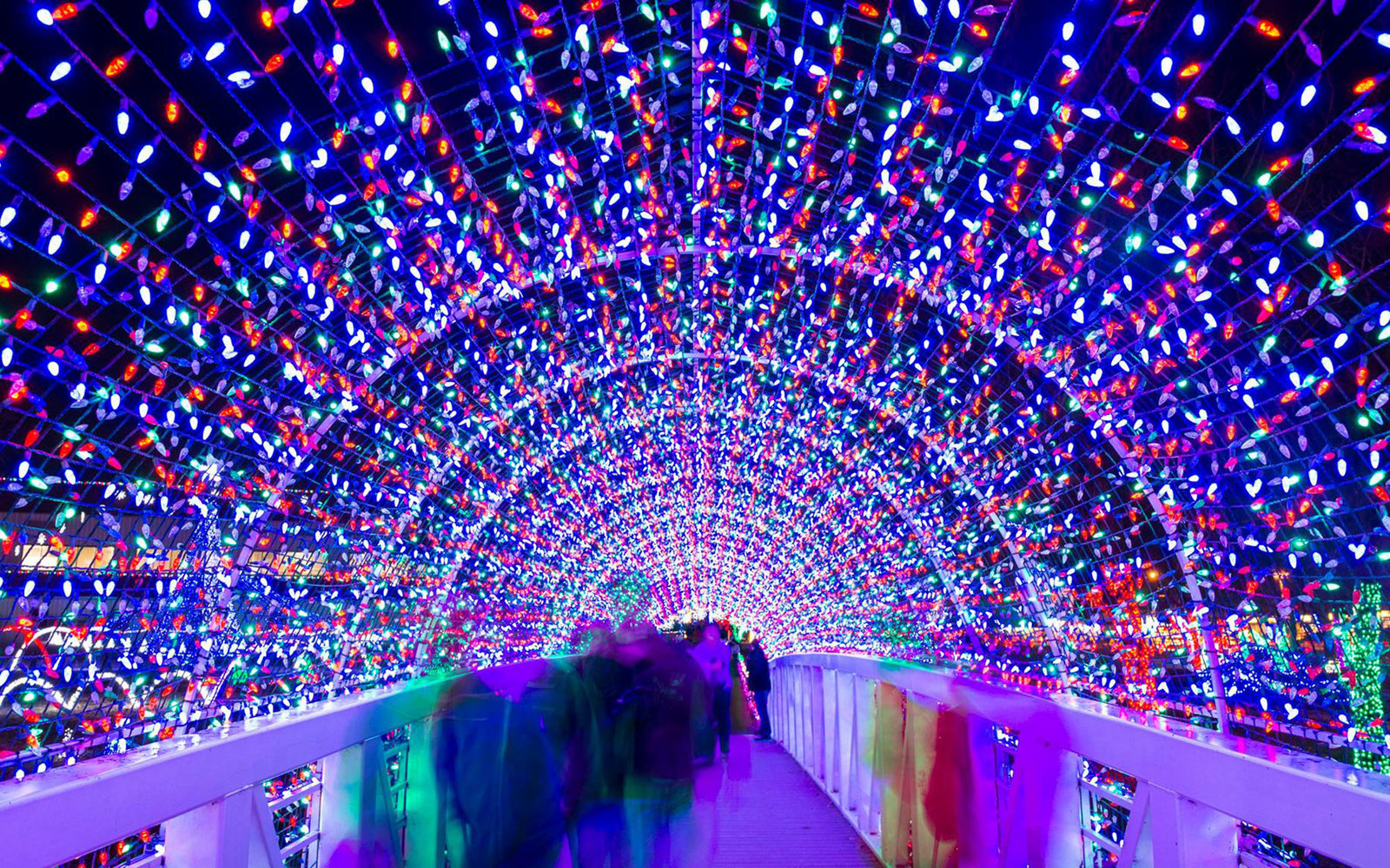 Lights Of Christmas.The Best Christmas Light Displays In Every State Travel