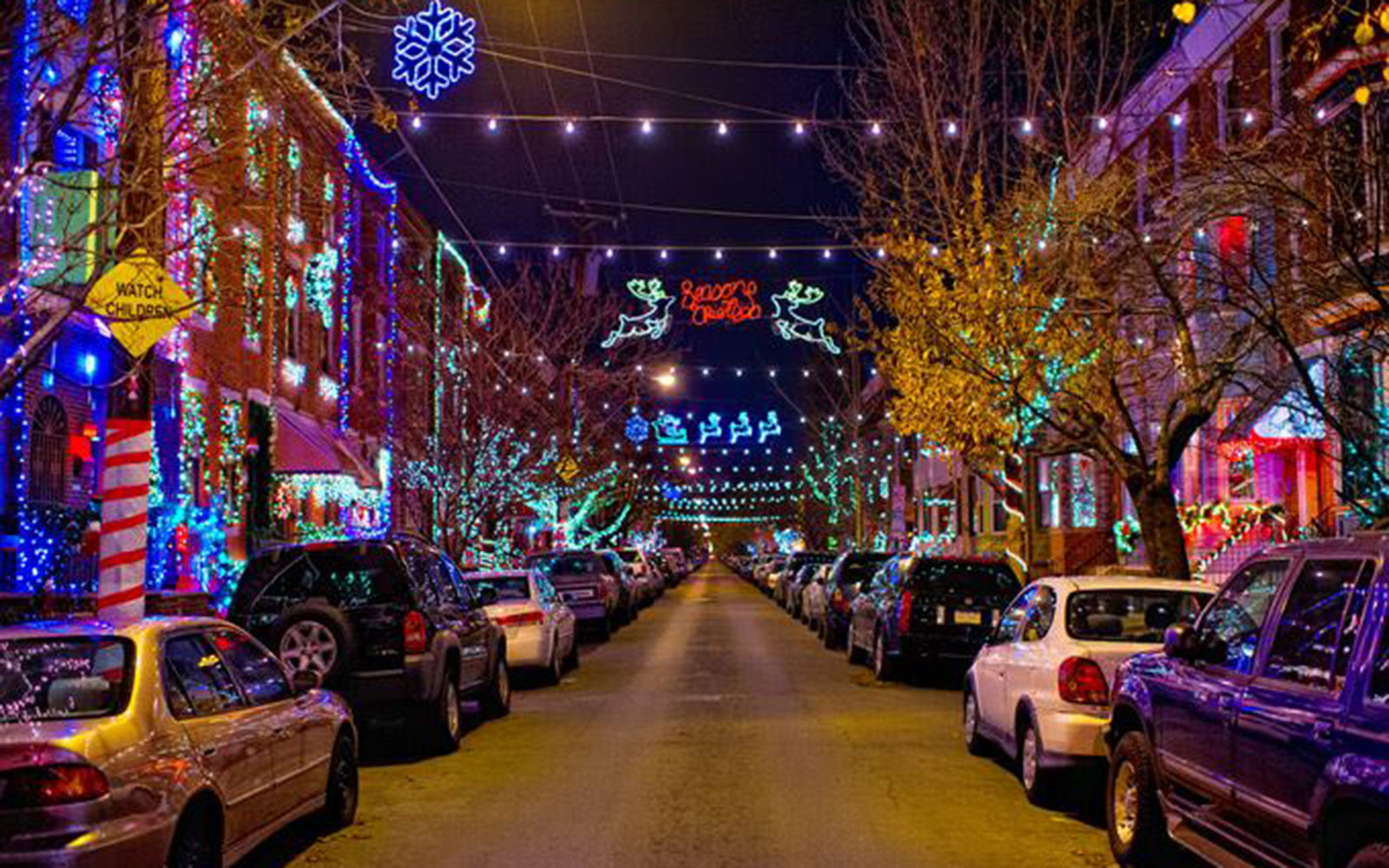 the best places to see christmas lights in every state - Where To Go See Christmas Lights