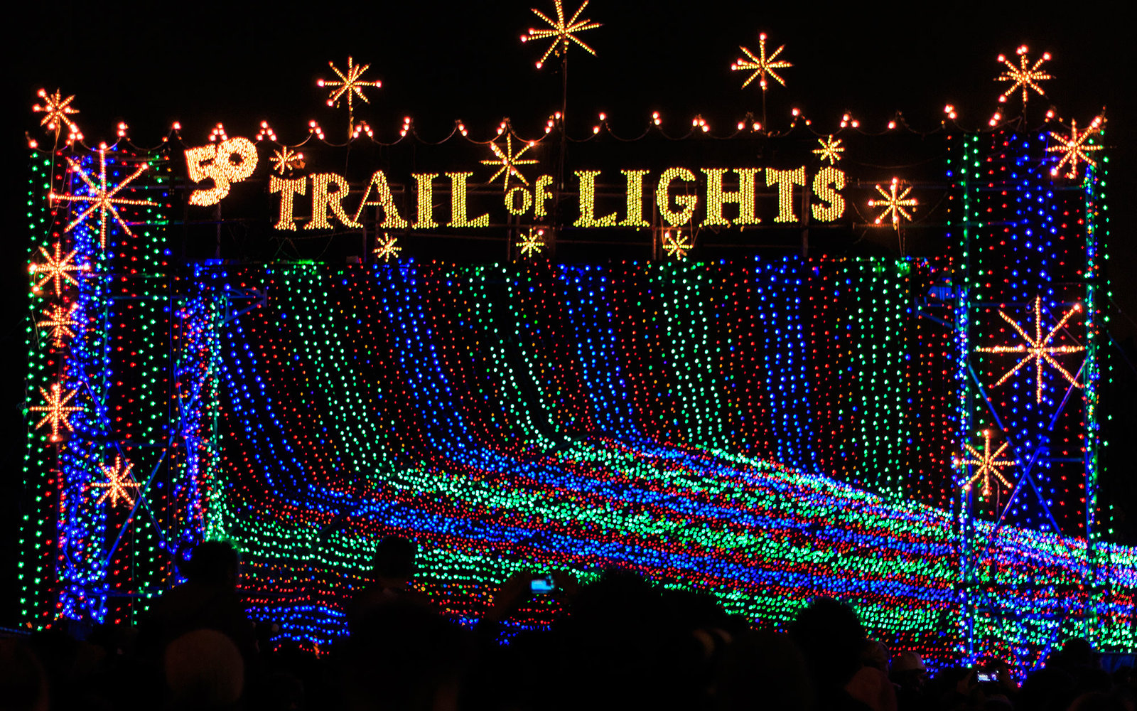 December 3014 Zilker Park Trail of Lights Austin, Texas