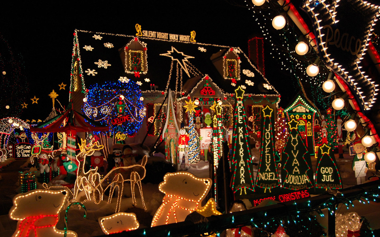 the best places to see christmas lights in every state - Best Place For Christmas Decorations