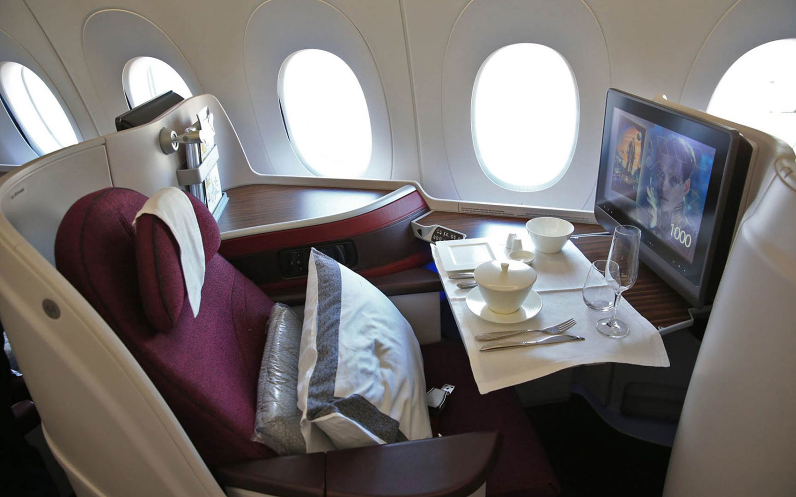 No. 9: Qatar Airways, International