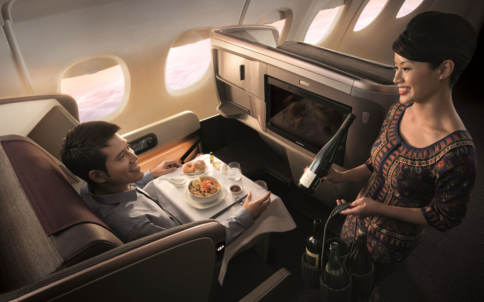 world's best airlines for in flight service
